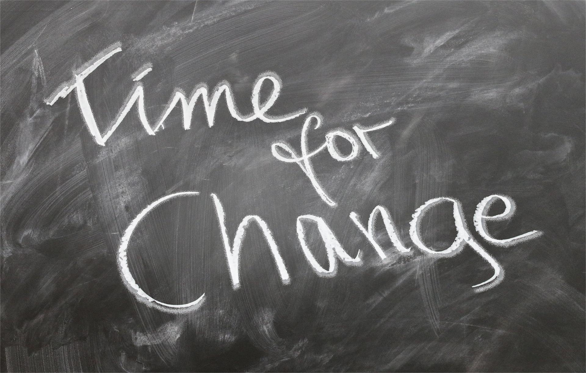 Il coraggio di vivere il cambiamento